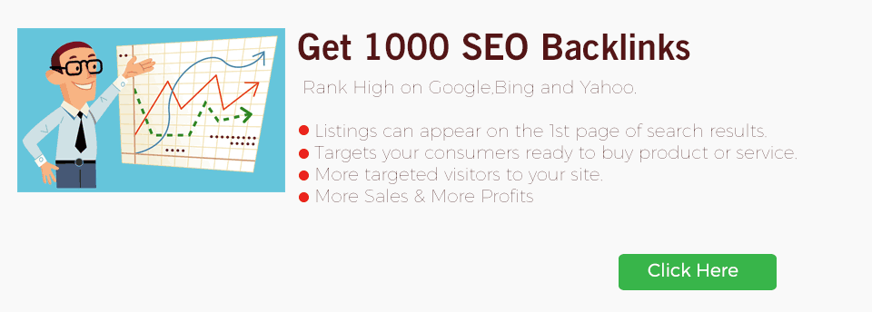 1000 SEO Backlinks