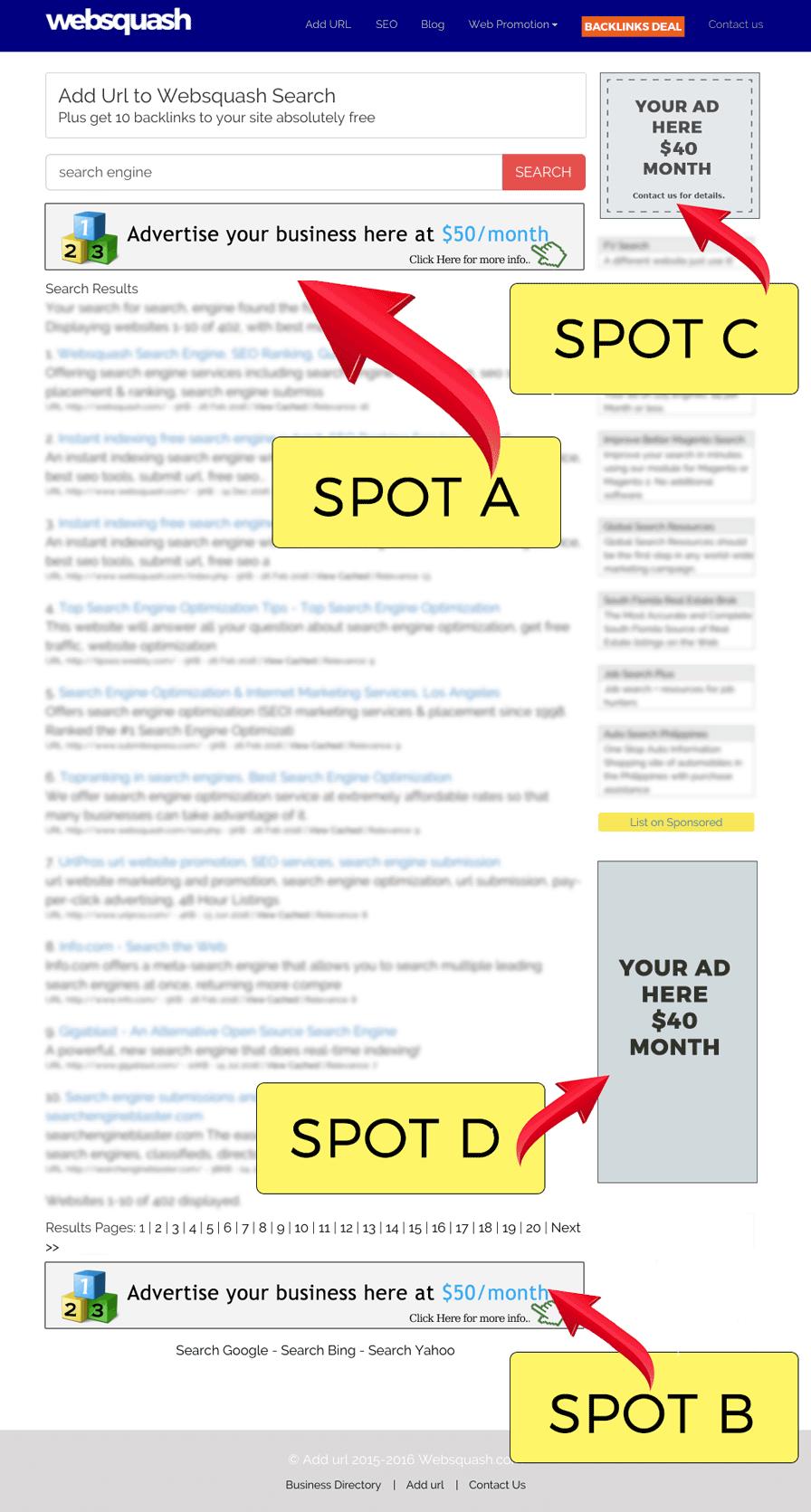Как прорекламировать сайт в интернете бесплатно брянская реклама эл.товары.обогреватели завесы